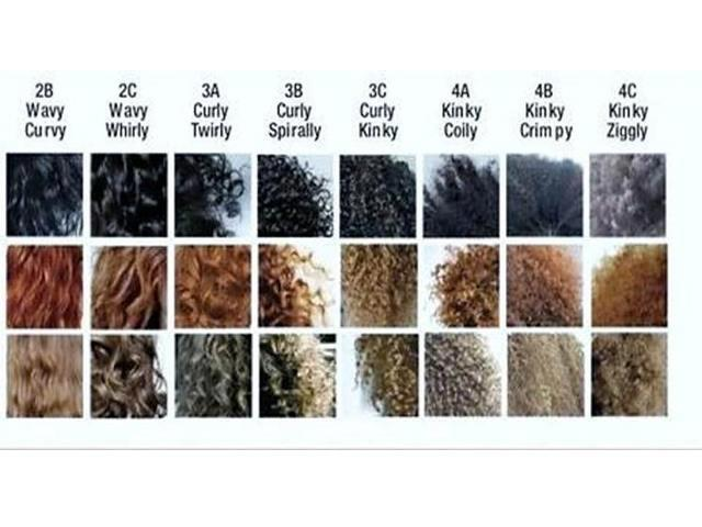 Natural Hair Curl Types