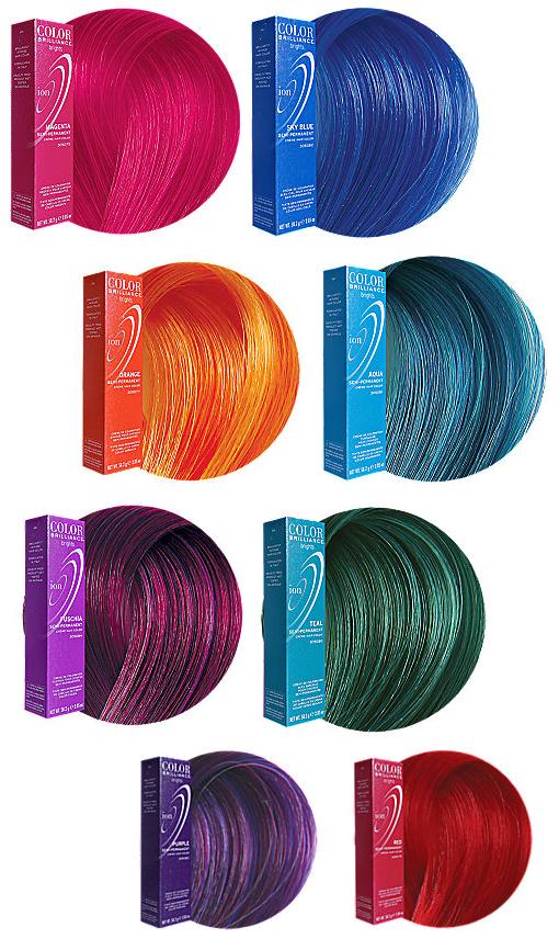 Ion Color Brilliance Permanent Hair Color Chart