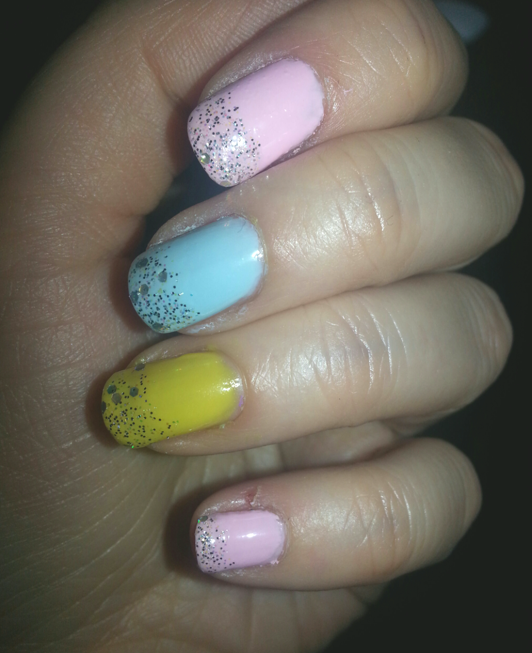 Weekend Nails – Lovely Pastels