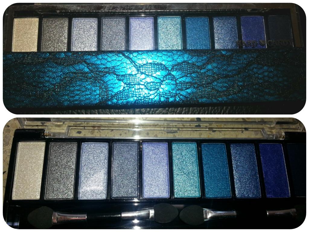 Hard Candy Top Ten Eyeshadow Palette In Feelin Blue Product Review