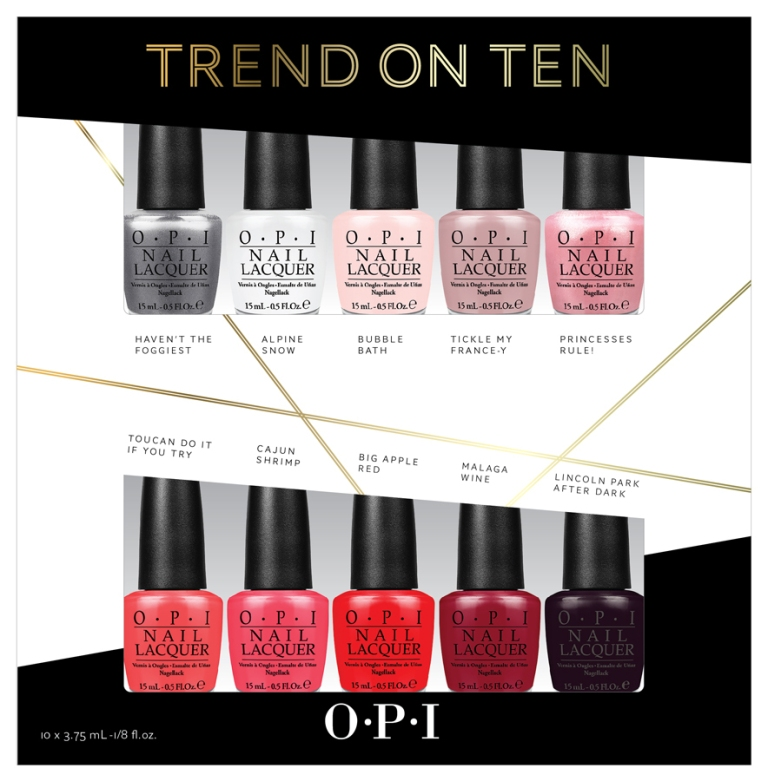 Trend-on-Ten-OPI-Mini-Set