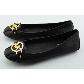 Michael-Kors-Fulton-Luggage-Leather-Logo-Loafers-Flats-Black